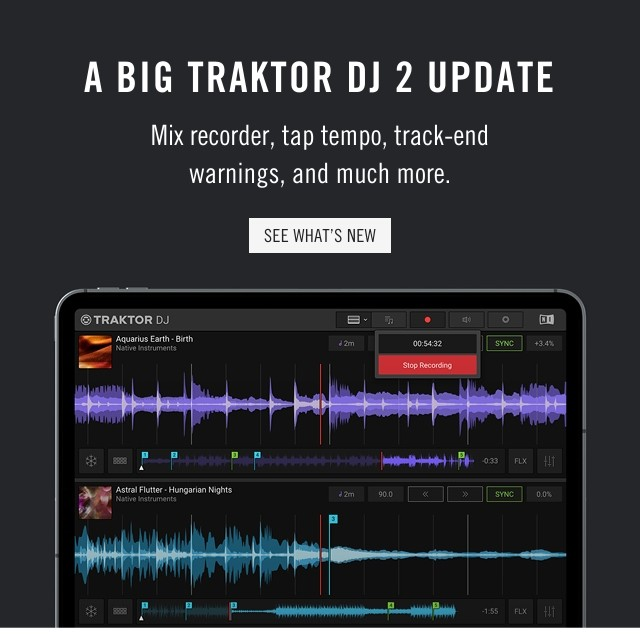 A BIG TRAKTOR DJ 2 UPDATE